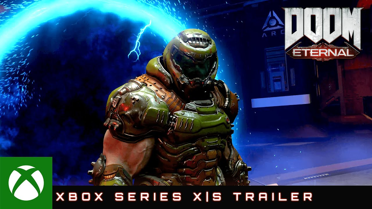 Doom Eternal оптимизирован для Xbox Series X S