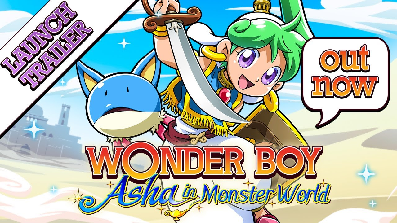 Wonder Boy: Asha in Monster World выходит на РС в июне