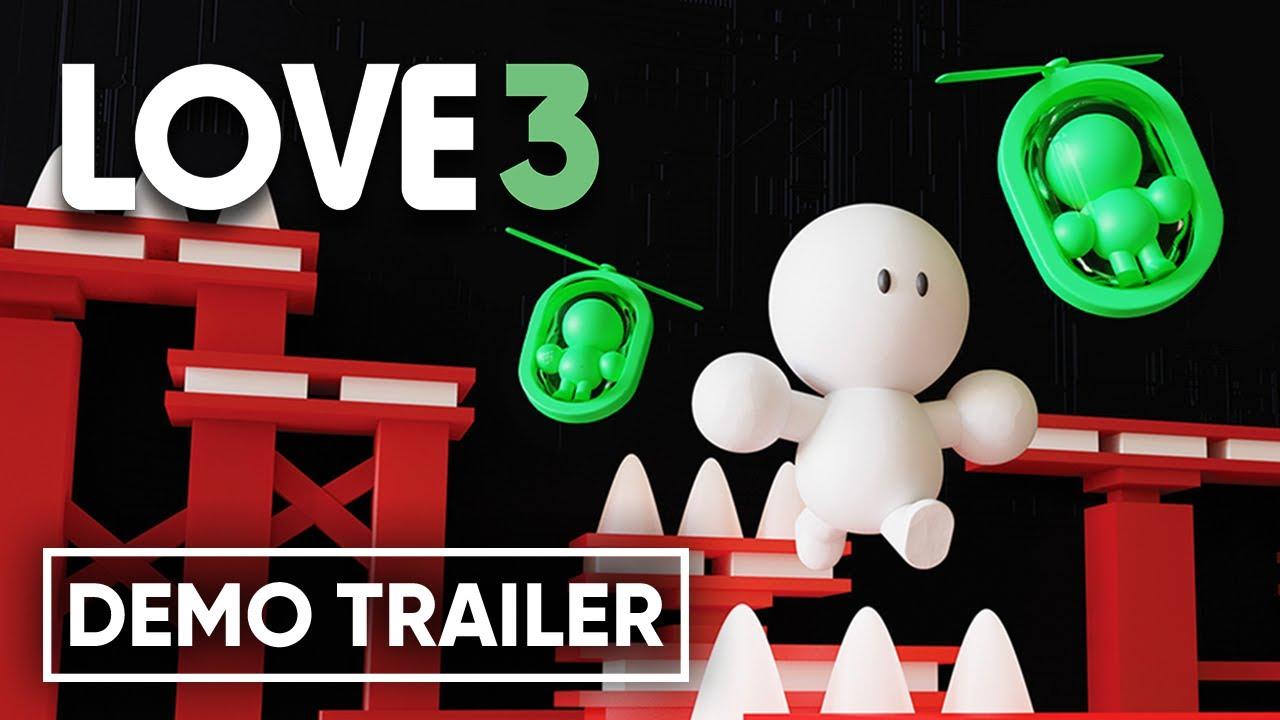 К сложному платформеру Love3 выпустили демоверсию